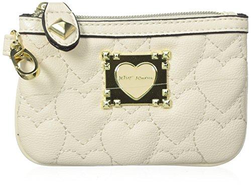 Betsey Johnson Be My Sweetheart Top-Zip Wallet