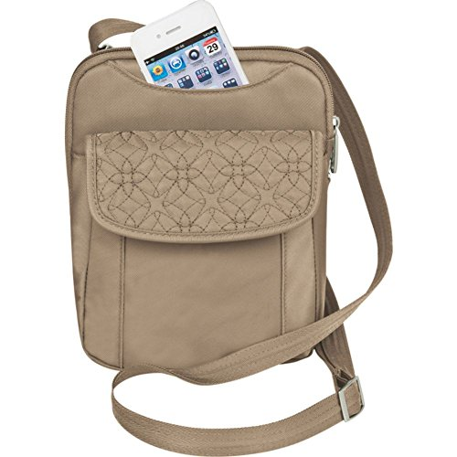 Travelon Anti-Theft Signature Slim Pouch Bag