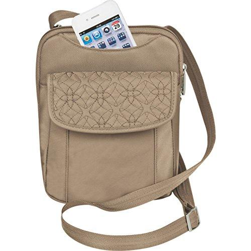 Travelon Anti-Theft Signature Slim Pouch Bag