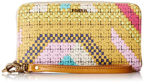 Fossil Sydney Signature Bifold Wallet, Bright, One Size