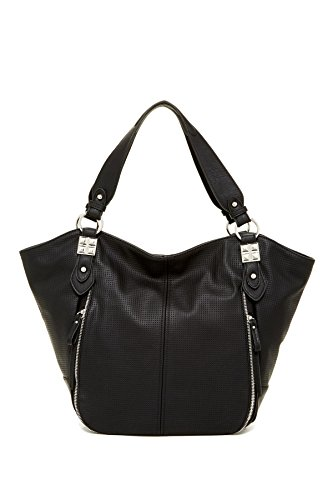 Jessica Simpson Monica Tote Shoulder Bag, Black, One Size