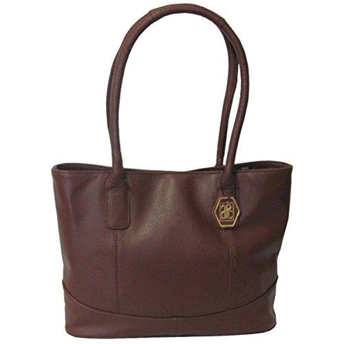 Amerileather Casual Leather Handbag Brown 1827-0578
