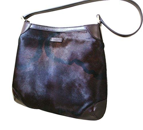 Gucci Hobo Pony Hair Shoulder Bag Handbag 257296 3062