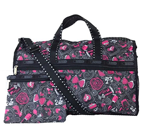LeSportsac Large Weekender Handbag,Barbie's Night Out D504,One Size