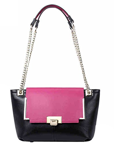 Yisihua Women's Chain Genuine Leather Handbag shoulder bag diagonal package