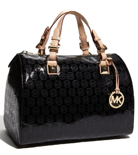 MICHAEL Michael Kors Large Grayson Monogram Satchel