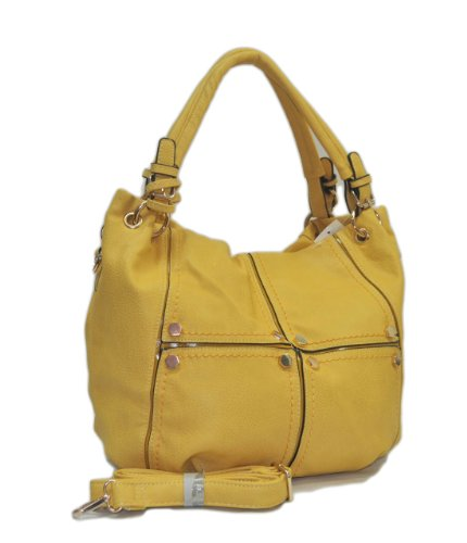"""Sori Collection """"705"""" Hobo Designer Inspired Handbag for Classy Women"""