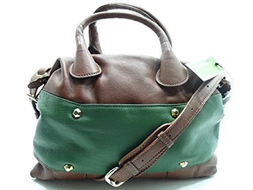 Oryany Satchel Bag Leather Coca Brown Multi