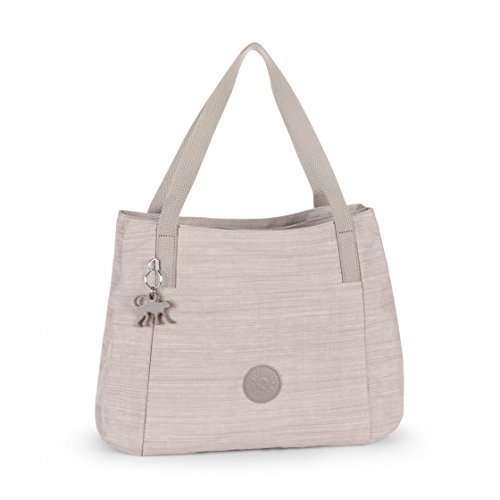 Kipling Pravia Dazz Dark Beige Shoulder Bag Handbag
