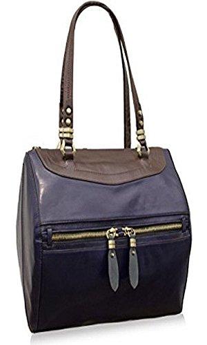 orYANY JuJu Shoulder Bag Eggplant Multi Leather