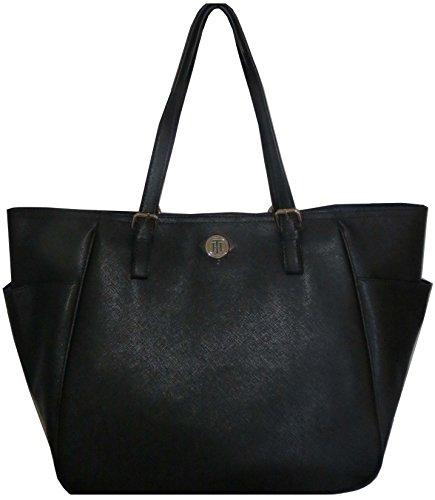 Tommy Hilfiger Handbag PVC Black