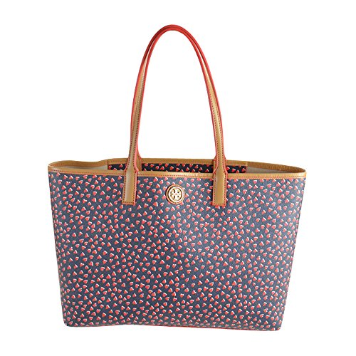Tory Burch Kerrington Hearts Shopper Tote Valentines Amore