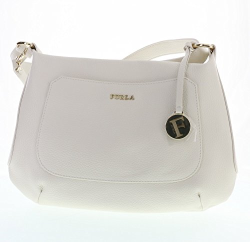 Furla Alida Leather Shoulder / Cross Body Bag (Petalo 002)
