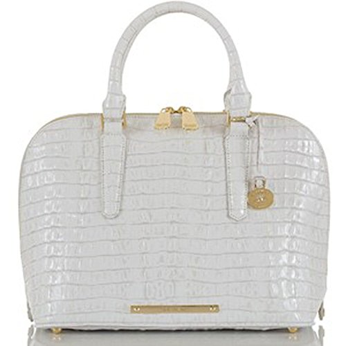Brahmin Vivian Macaroon La Scala Leather Handbag