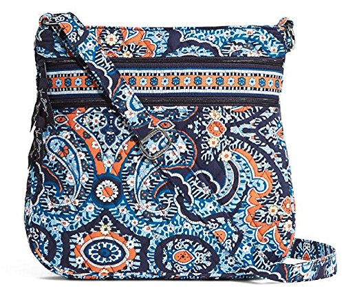 Gorgeous Vera Bradley Triple Zip Hipster in Marrakesh