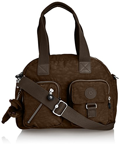 Kipling Women's Defea Shoulder Handbag K1363602M Rusty Khaki
