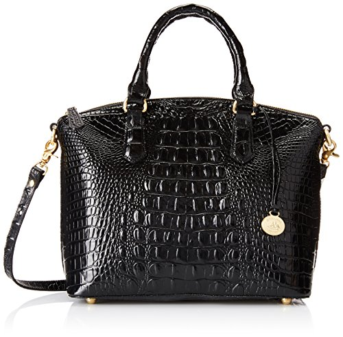 Brahmin Duxbury Satchel Top Handle Bag, Black, One Size