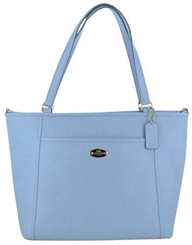 Coach F34497 Crossgrain Leather Pocket Tote Handbag