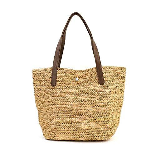 Helen Kaminski DAVOLIA Women's Raffia Tote Hand Resort Bag