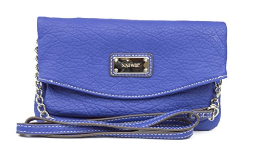 Nine West Tunnel Mini Crossbody, Color Diva Blue
