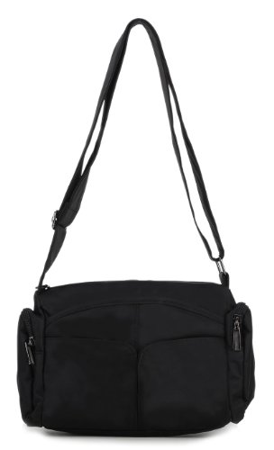 Scarleton Barrel Nylon Shoulder Bag H1502