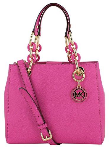 Michael Kors Cynthia Women's Satchel Handbag Purse