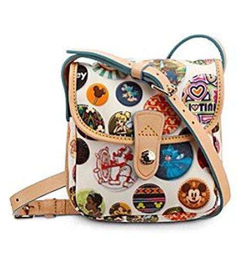 Dooney & Burke Disney Buttons Small Crossbody Handbag