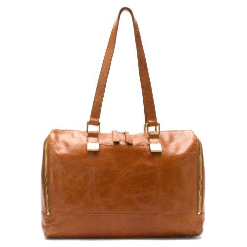 HOBO Madelyn Leather Satchel, Caramel