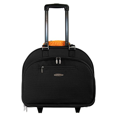 Baggallini Waltz Carry-On Softside Rolling Tote with 2 Wheels