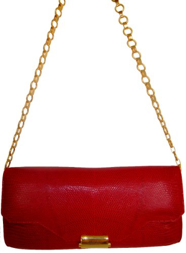 Arabella RdGd- Genuine Lizard Skin Clutch / Handbag