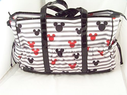 Mickey Mouse Large Diaper Bag Tote, db30196
