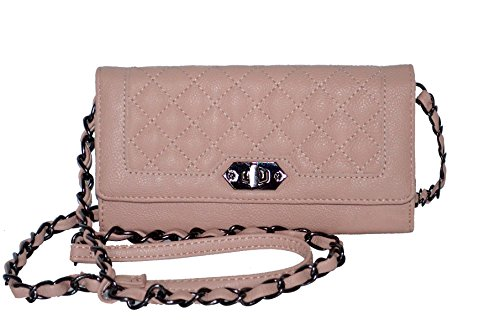 Steve Madden Blush MR Crossbody Wallet Bag Handbag Purse Cross Body
