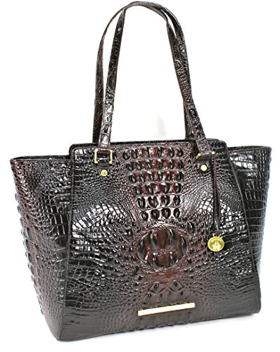 NEW AUTHENTIC BRAHMIN LARGE TORI CARRYALL TOTE (Cocoa Melbourne)