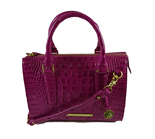 Brahmin Women's Anywhere Convertible leather handbag Dahlia Melbourne