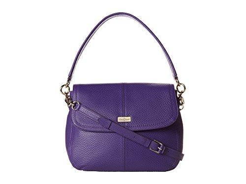 Cole Haan Women's Village Jenna Shoulder Bag Purple Reign