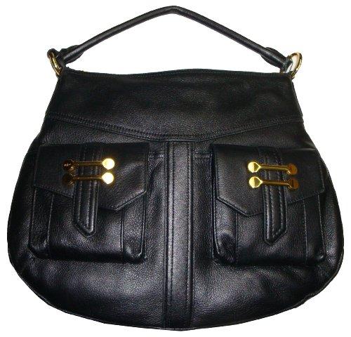 Women's Lauren Ralph Lauren Bermondsey Hobo Handbag (Black)