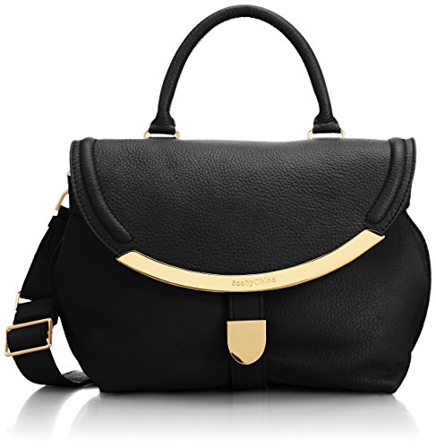 See by Chloe Women's Lizzie Small Satchel, Black, One Size