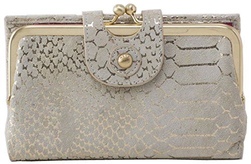 Hobo Handbags Vintage Leather Alice Wallet – Gold Filigree