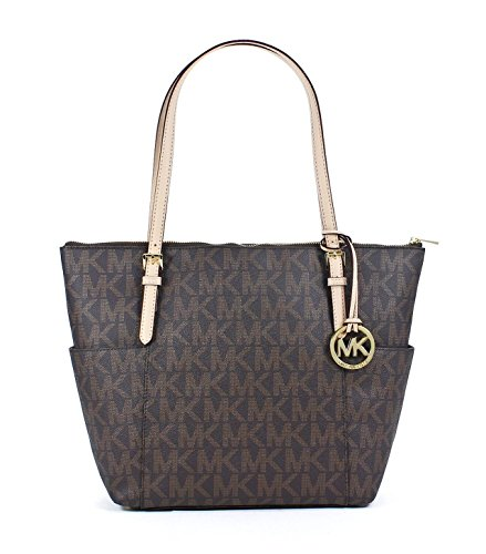 MICHAEL Michael Kors East West TZ Tote MK Signature PVC
