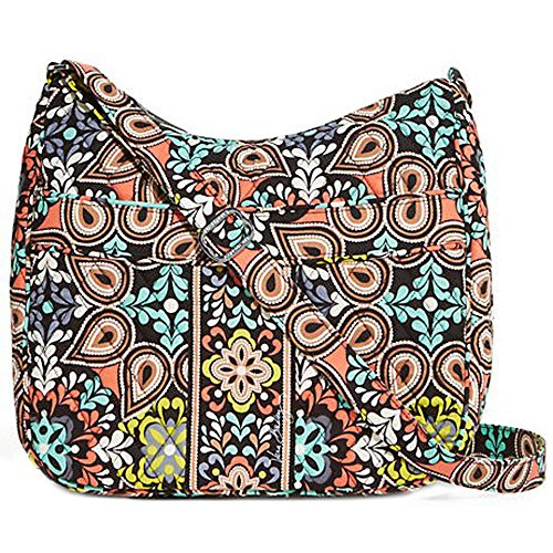 Vera Bradley Cotton Carryall Crossbody Bag – Sierra – 13502-282
