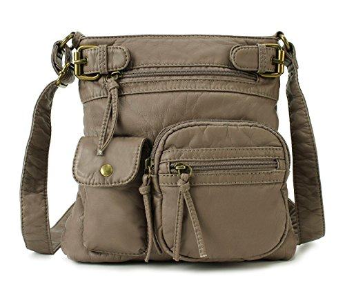 Scarleton Accent Top Belt Crossbody Bag H1657