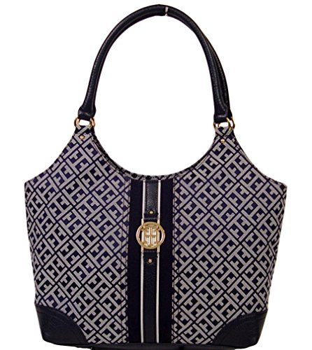Tommy Hilfiger Purse Womens 4 Poster Shoulder Bag Blue