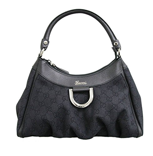 Gucci Black Denim Hobo Handbag 265692