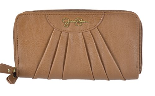 JESSICA SIMPSON *EMMY* Safari Double Zip Wallet