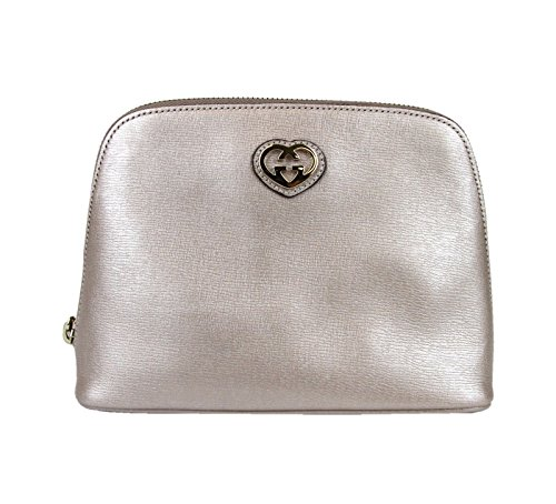 Gucci Pink Large Leather Clutch Pouch Bag 338189 5711