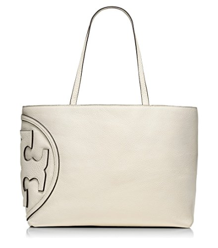 Tory Burch Pebbled Leather All T Tote Bag – New Ivory 21149693