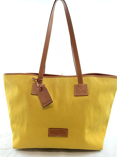 Dooney and Bourke Large Cindy Tote Sunflower Yellow