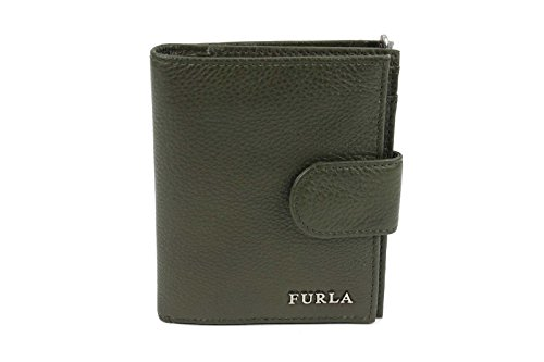 Furla Classic Leather Wallet in Army
