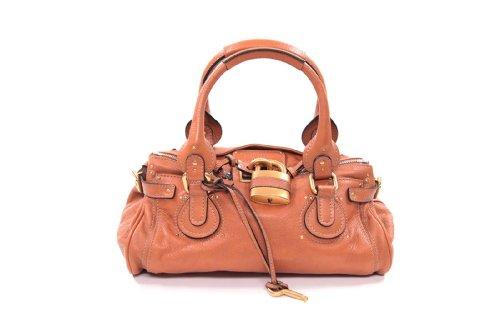 Chloe Handbags Paddington Satchel In Tan with Gold Hardware 7esa02-7e422