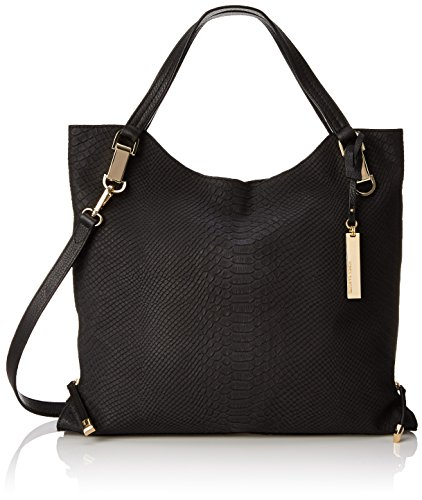 Vince Camuto Riley Tote, Raven/Black, One Size
